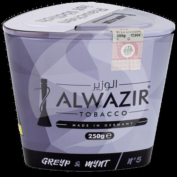 Al Wazir Tobacco 250g - No. 05 Greyp & Mynt