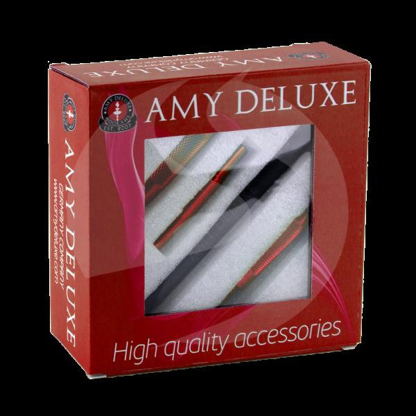 AMY Deluxe Alu. Mundstück in Box - Rot