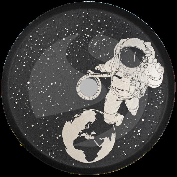 ALPHA Hookah Designed Kohleteller - Astronaut