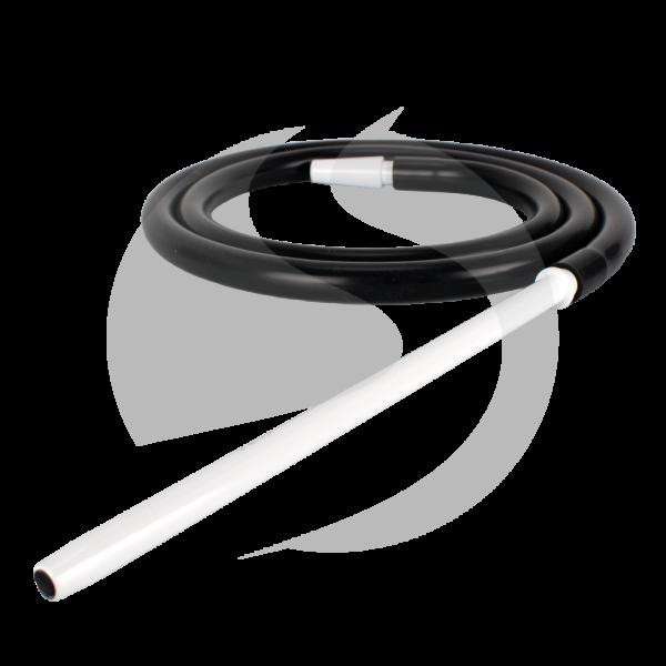 SK Silikonschlauch SET - White/Black