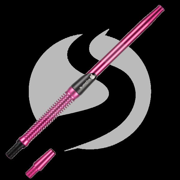 Cyborg Hookah Mundstück Metalic Spirale - Pink