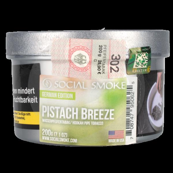 Social Smoke 200g - Pistach Breeze