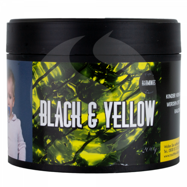 Harmonies Tobacco 200g - Black & Yellow