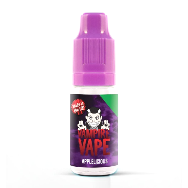 Vampire Vape E-Liquid 10ml 0mg - Applelicious