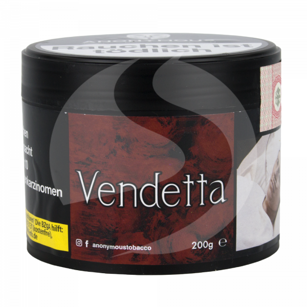 Anonymous Tobacco 200g - Vendetta