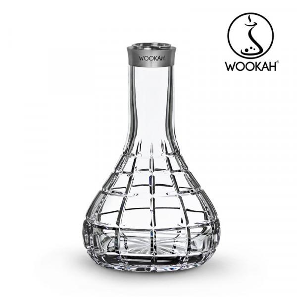 Wookah #QLS Crystal Vase - Squares