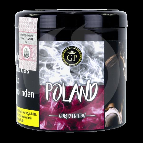 Golden Pipe World Edition 200g - Poland