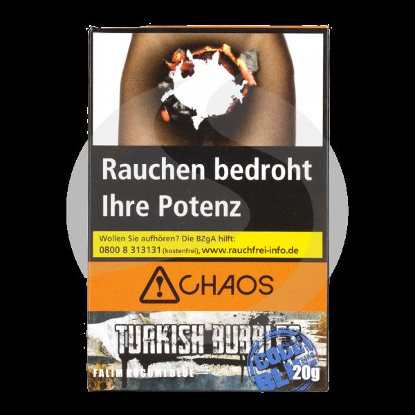 Chaos Tobacco 20g - Turkish Bubbles Code Blue