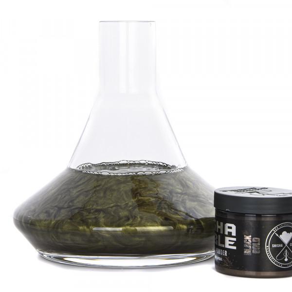 Shisha Bubble Farbpulver 50g - Black Gold