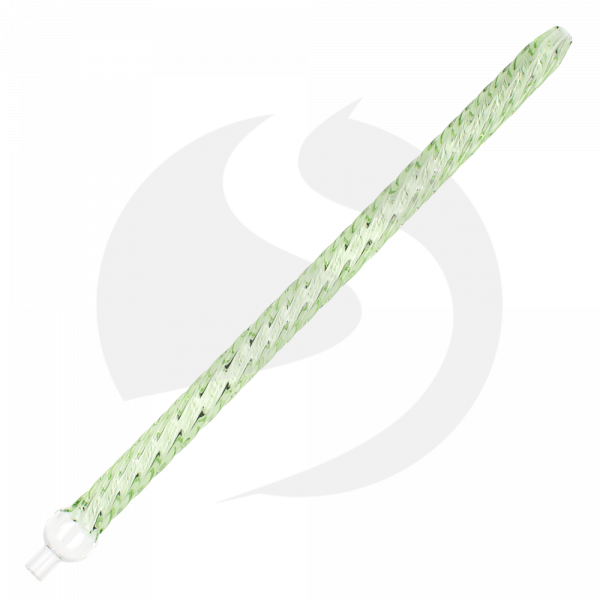 Dschinni Glasmundstück Straight Regular - Spiral Green