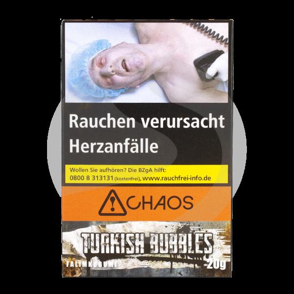 Chaos Tobacco 20g - Turkish Bubbles