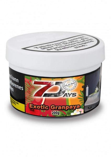 7 Days Tabak Platin 200g - Exotic Granpaya
